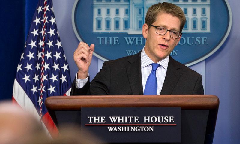 White House spokesman Jay Carney. — File Photo by AP