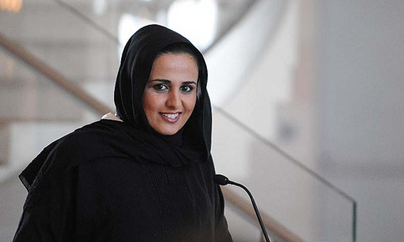 Qatar emir's daughter atop art's 'power list'