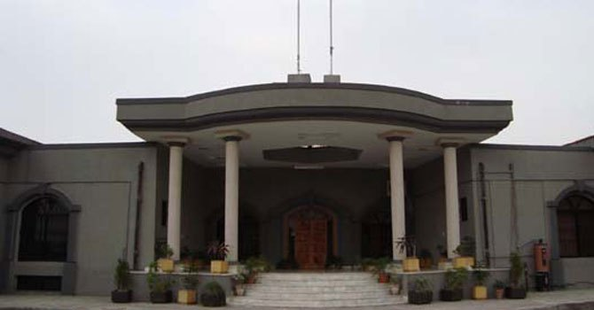 After hearing the preliminary arguments, Justice Riaz Ahmed Khan of the IHC on Thursday referred the matter to Chief Justice Mohammad Anwar Khan Kasi as the petitioner had requested for the constitution of a larger bench to hear the petition.   — File Photo