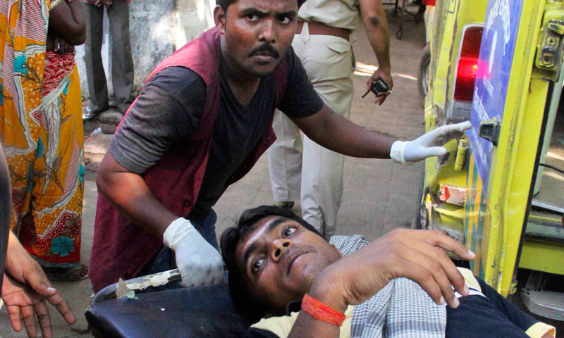 Bomb blasts before Indian opposition rally kill six