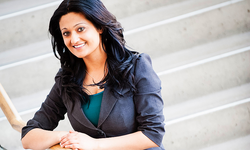 Rana Bokhari, the youngest person to ever lead the Manitoba Liberals, will lead the party into the next provincial election in the spring of 2016.