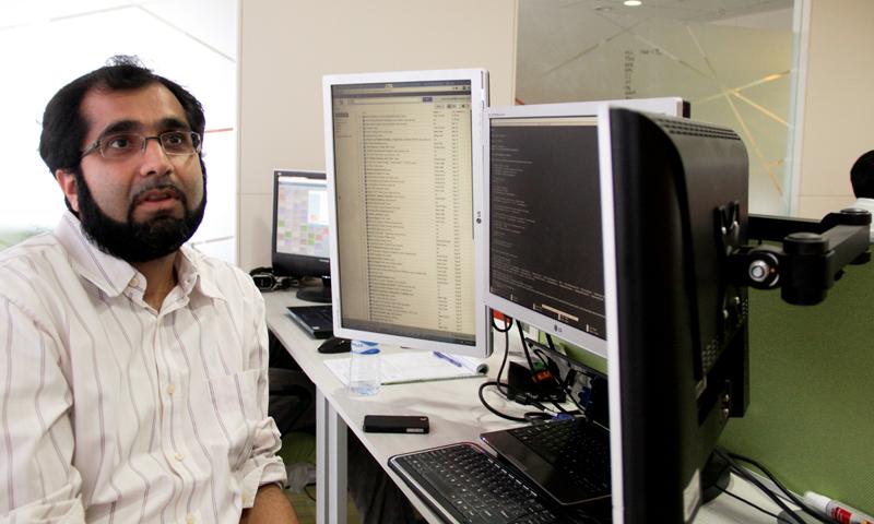 DotZero co-founder Imran Moinuddin — Photo by WhiteStar/Hussain Afzal