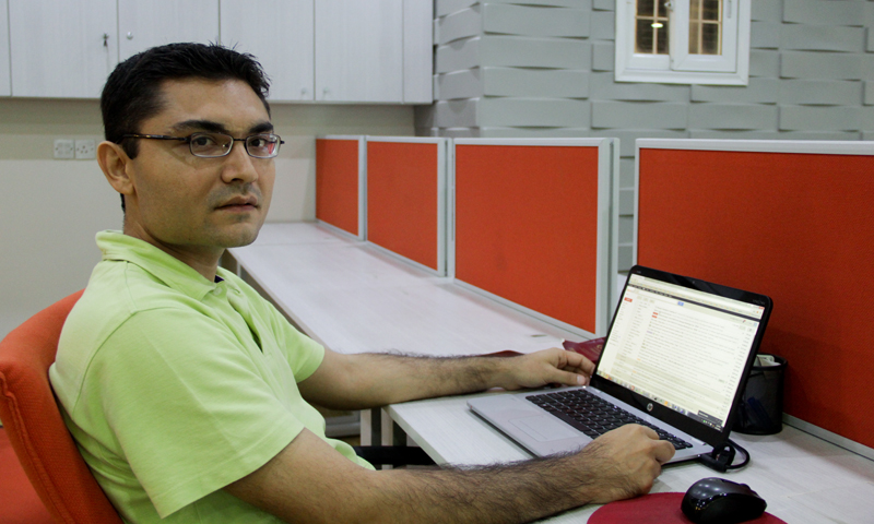 DotZero co-founder Farzal Dojki — Photo by WhiteStar/Hussain Afzal