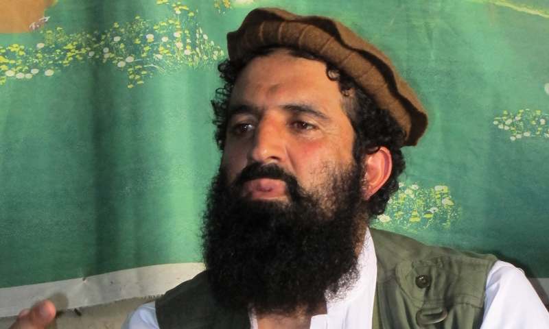 In this Oct 5, 2013 photo, Pakistani Taliban spokesman Shahidullah Shahid speaks in an interview at an undisclosed location in Pakistan's tribal areas.—AP Photo