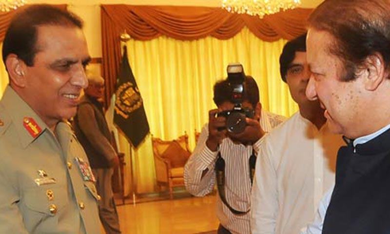 Prime Minister Nawaz Sharif  will meet Gen Kayani at a reception to be hosted by the Bahawalpur corps commander in Bahawalpur.  — File Photo by AP