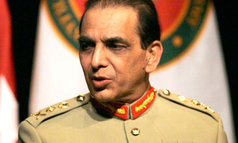 Kayani lauds Rangers, police for restoring peace in Karachi