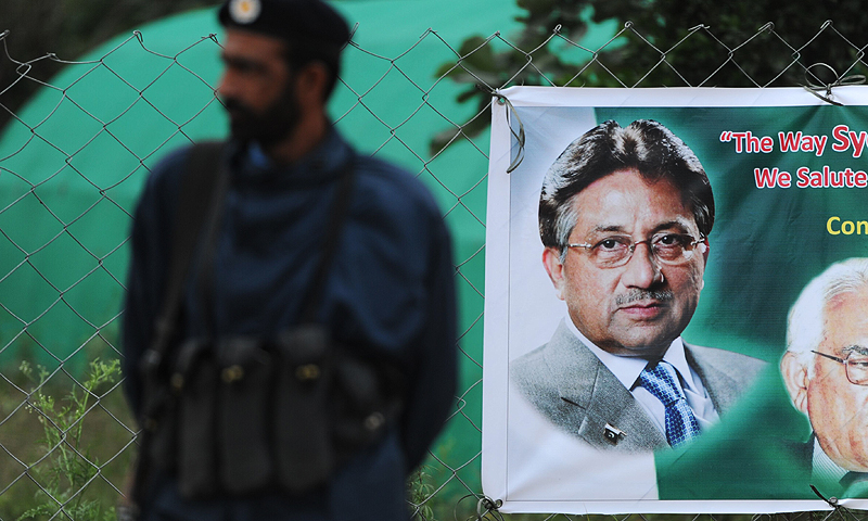 Cleric murder case: Musharraf a free man after surety submission
