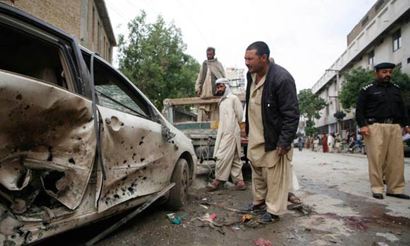 Nine killed in Balochistan violence‏