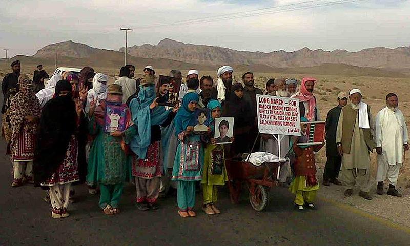 Long march participants.