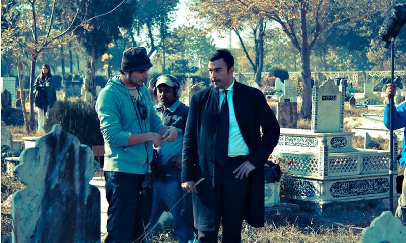 "A scene from Pakistani movie ""Waar"". - Courtesy Photo"