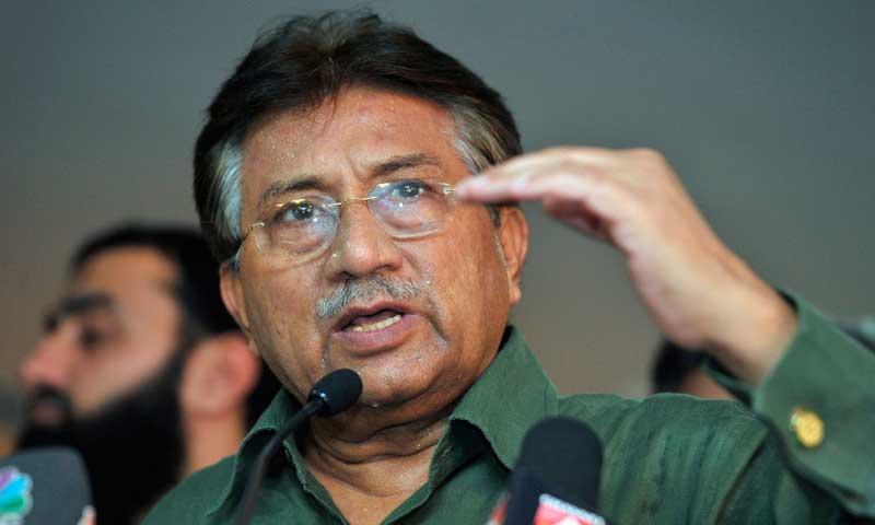 Former Pakistan president Pervez Musharraf. -File Photo