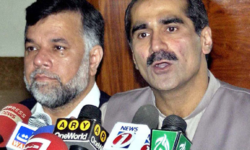 Minister for Railways Khawaja Saad Rafique. — File Photo
