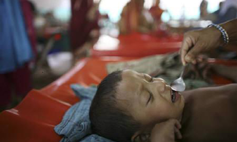 The stark reality is that prevalence of malnutrition in Bangladesh is among the highest in the world. Nearly half of children have chronic malnutrition. — File Photo by Reuters