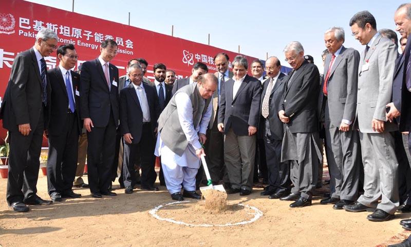 وزیراعظم KANUPP-2 کا افتتاح کرتے ہوئے—فائل فوٹو/آن لائن
