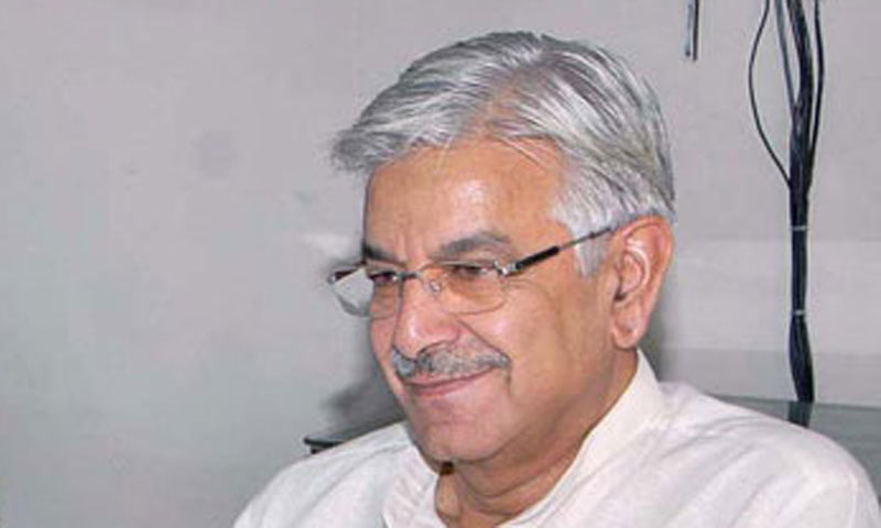 Minister for Water and Power Khawaja Asif.—File Photo