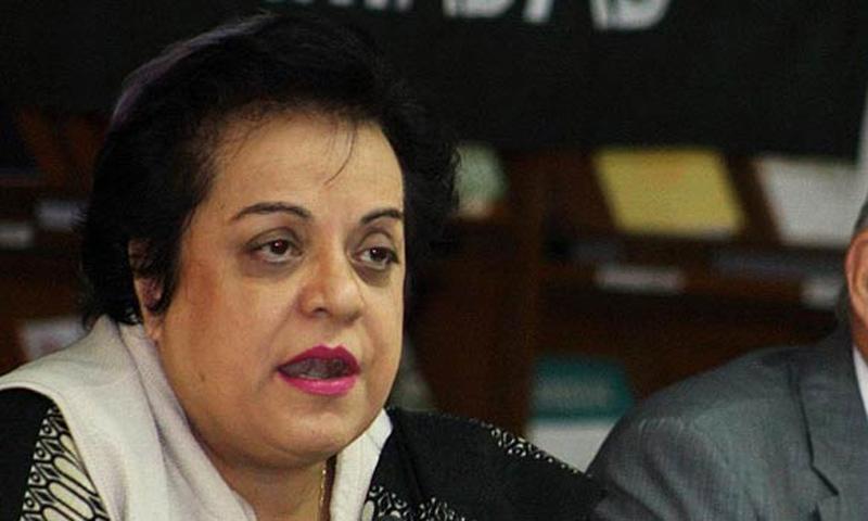 Pakistan Tehrik-i-Insaf (PTI) information secretary Shireen Mazari. —File Photo