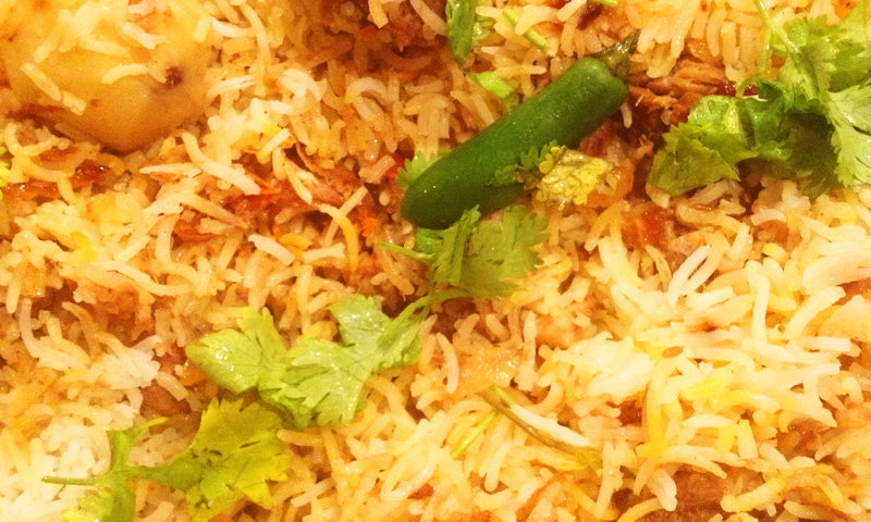 Food Stories: Hara masala biryani