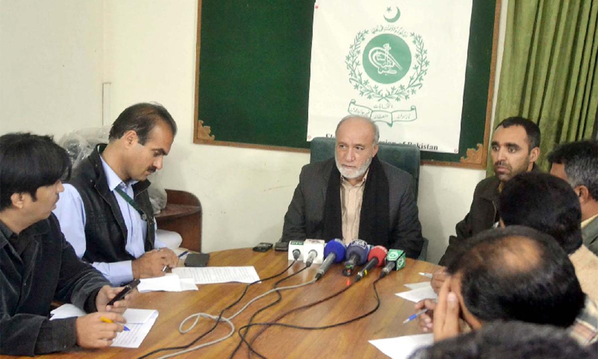 Preparations for LG polls in Balochistan
