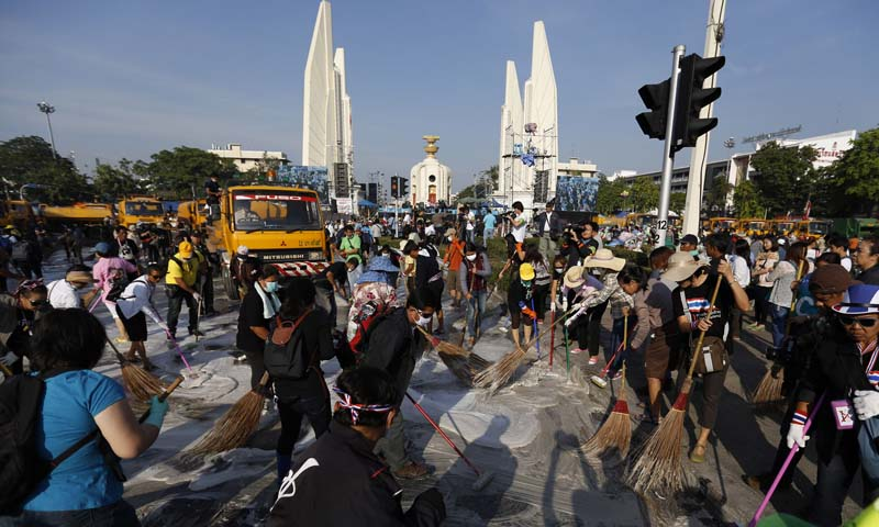 Thailand protests subdue for King's birthday