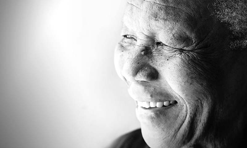 Nelson Mandela. — Photo illustration