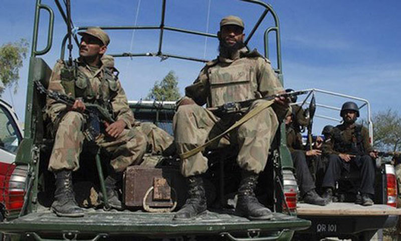 Roadside bomb kills four soldiers in North Waziristan