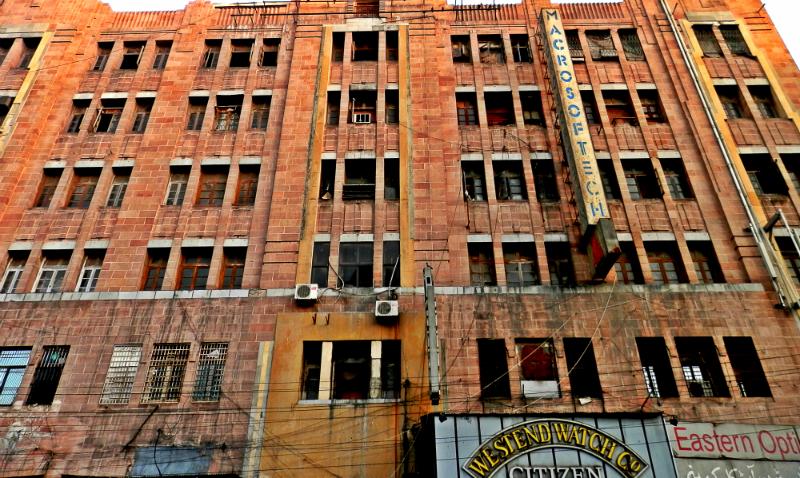 Lakshmi building, Karachi. -Photo by Akhtar Balouch