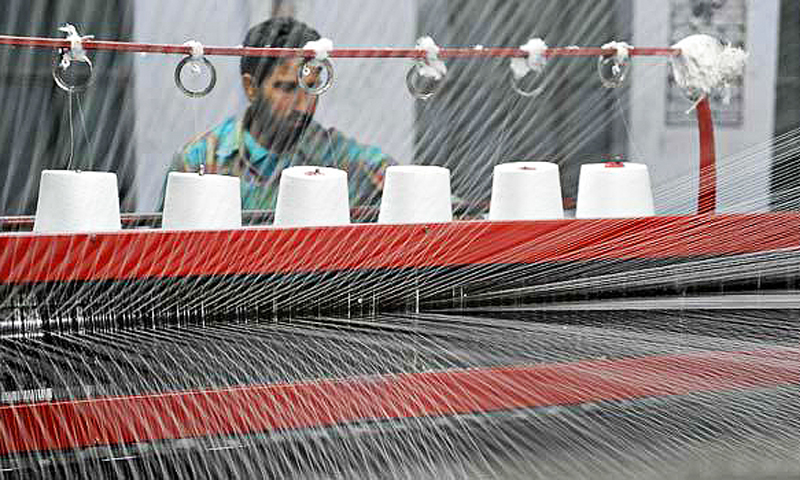 While Sindh has invited Chinese investors to set up their plants in the Garment City in Karachi, Punjab has recently approved a scheme to create its own garment city, to be spread over an area of 1,300 acres near Sheikhupura. -Photo by AFP