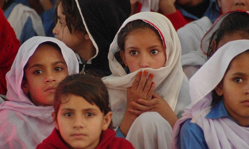 کوئٹہ کے مرکز میں لڑکیوں کے ایک بڑے اسکول میں ٹوائلٹ موجود نہیں۔ فائل تصویر علی شاہ