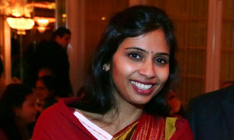 Devyani Khobragade, India's deputy consul general in New York.—Photo by AP