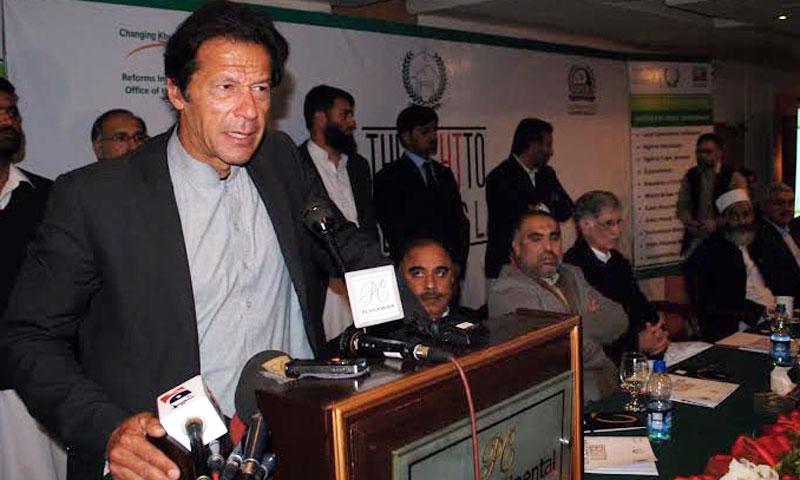 Imran vows to continue anti-drone campaign