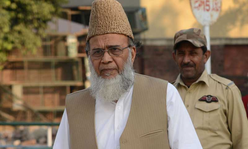Jamaat-i-Islami chief Munawar Hassan. — File photo