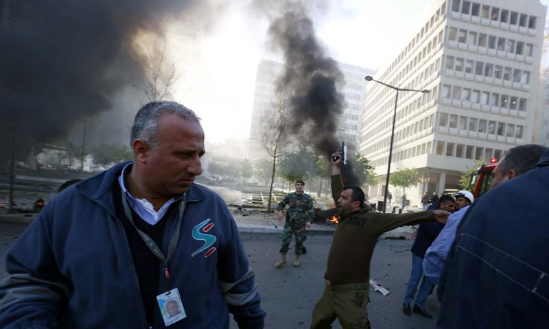 Lebanon bombing kills five, including ex-minister