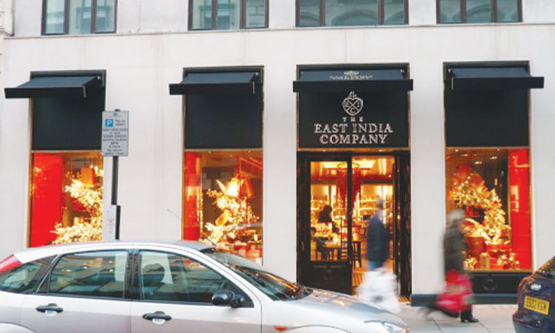 The East India Company — giftwrapped
