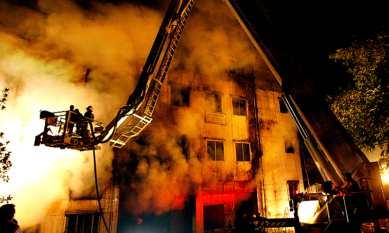 The fire on November 24, 2012, shone an international spotlight on appalling safety conditions in an industry worth more than $20 billion a year.  — File Photo