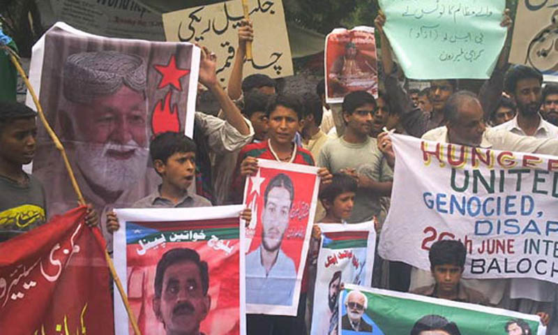 VBMP chairman Nasrullah Baloch also alleged that 510 Baloch political workers were picked up by the agencies this year. – File Photo