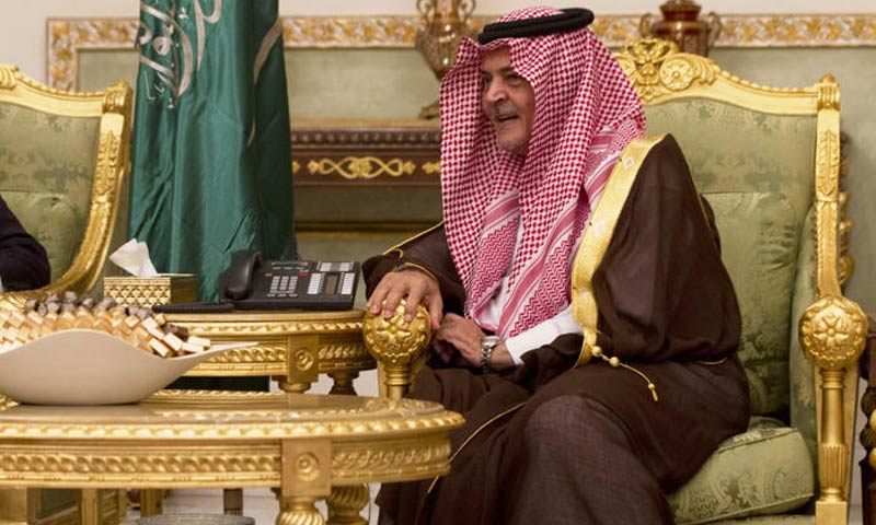 Saudi FM to visit Pakistan on Jan 6