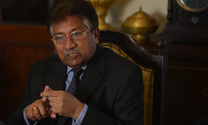 Former dictator Pervez Musharraf. — File photo