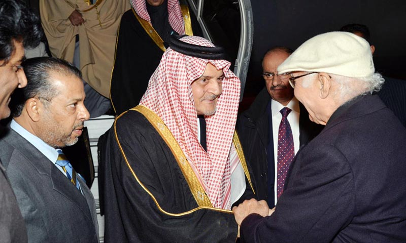 Saudi FM arrives amid speculations of Musharraf exit deal