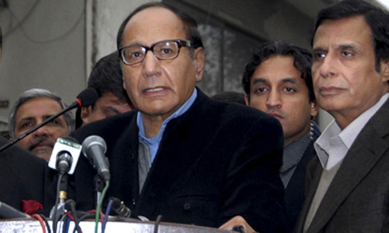 PML-Q chief Chaudhry Shujaat Hussain. — File photo