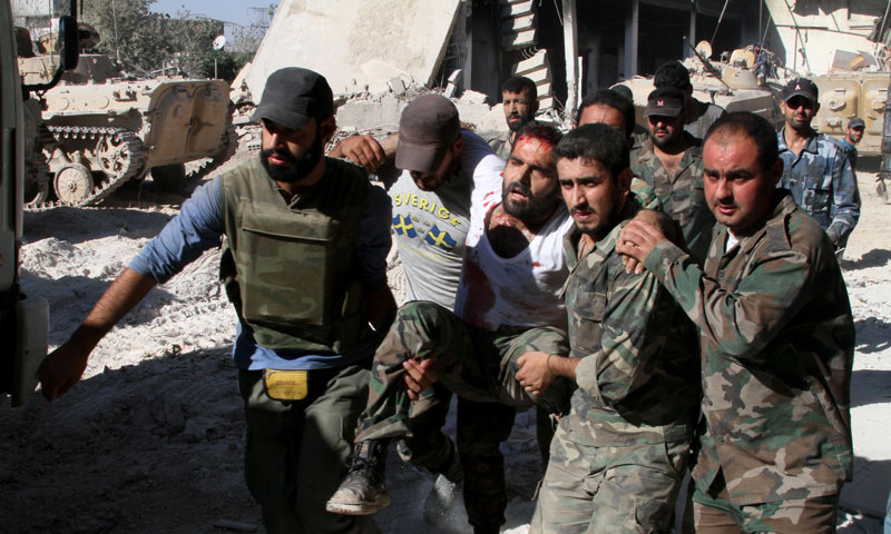 Nearly 500 killed in Syria rebel-jihadist fighting: NGO