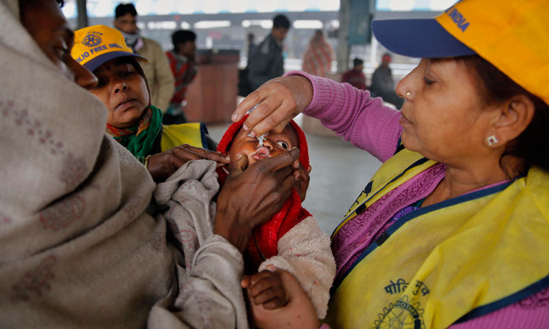India marks three years since last polio case