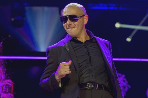 Pitbull performs during the 2013 Z100 Jingle Ball in New York December 13, 2013. -Photo by Reuters