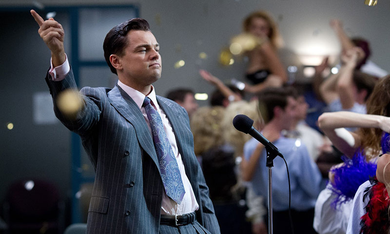 "A scene from movie, ""The Wolf of Wall Street"". - Courtesy Photo"