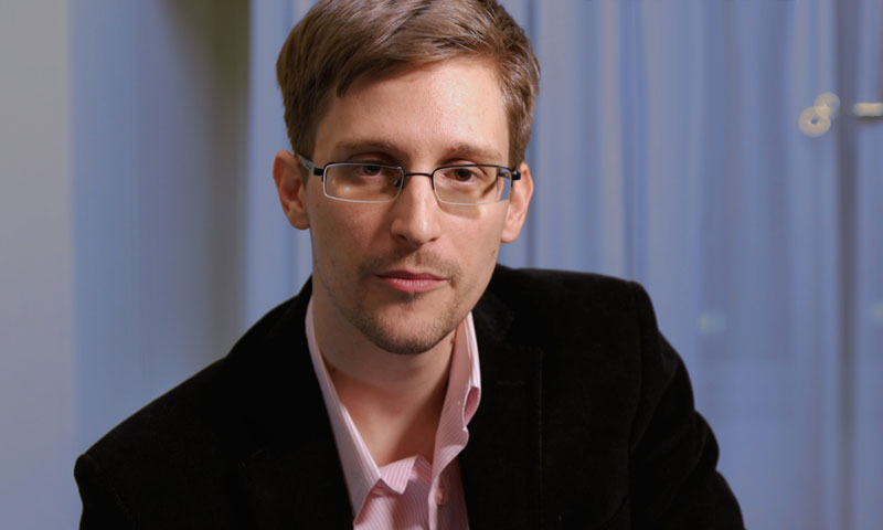 Former NSA contractor Edward Snowden also said US government representatives wanted to kill him, according to a simultaneous German translation by the station. — File Photo