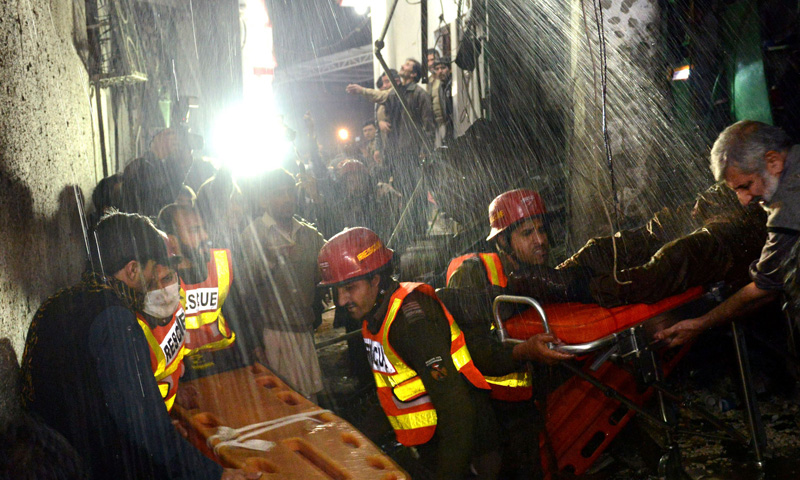 Suicide blast near Imambargah kills nine, injures 50 in Peshawar