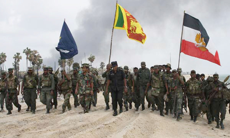 Sri Lanka's army led an orgy of indiscriminate killing at the climax of the island's civil war, and has since tried to destroy evidence of its crimes.— Photo by AFP