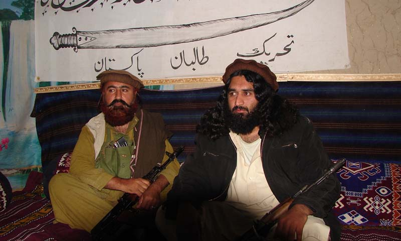 Mufti Hasaan Swati (right) is a member of the TTP's supreme shura but it is not clear when he was appointed the Peshawar chief of the group.