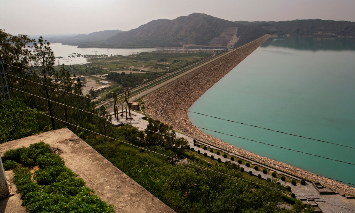 Tarbela Dam. — Photo by Kohi Marri