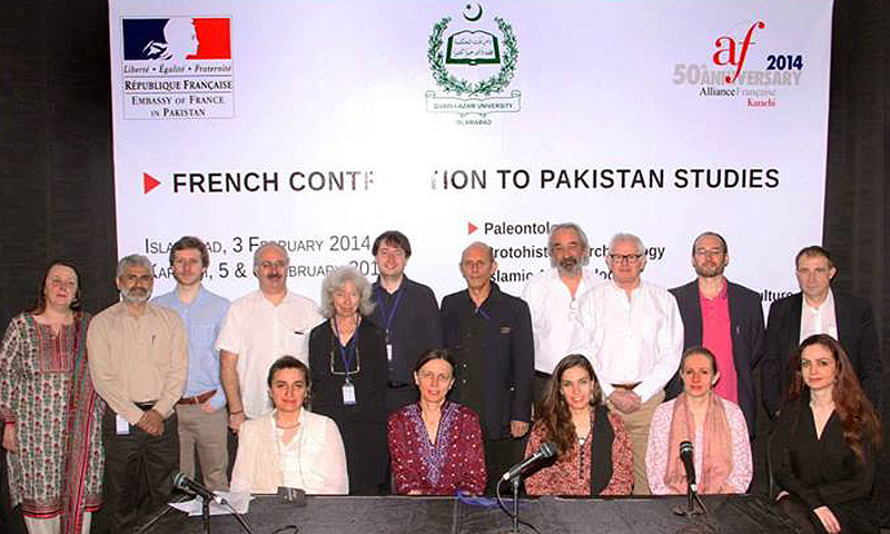 French contribution to Pakistani Studies seminar. –Photo courtesy of Alliance française de Karachi