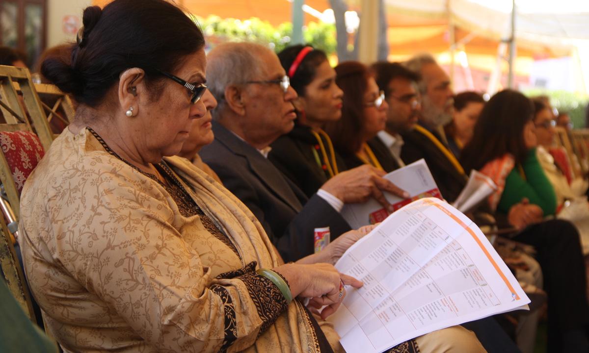 Guests at the inauguration. –Photo by Aliraza Khatri
